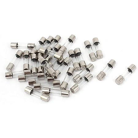 Feinsicherung Mit Glasgehäuse Glassicherung Schnell 250 V 2 A F2al 5 X 20 Mm 20 Stück De Baumarkt