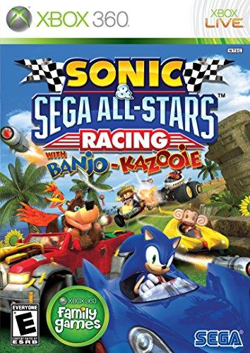 SEGA Sonic & All-Stars Racing, Xbox 360 Xbox 360 vídeo - Juego (Xbox 360, Xbox 360, Racing, Modo multijugador, E10 + (Everyone 10 +))