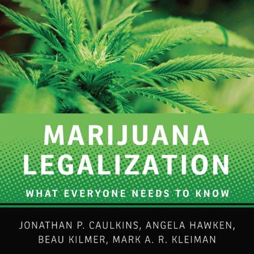 Marijuana Legalization audiobook cover art