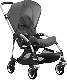Bugaboo Bee5 Complete Stroller with Aluminum Frame with Grey Melange Seat and Grey Melange Sun Canop