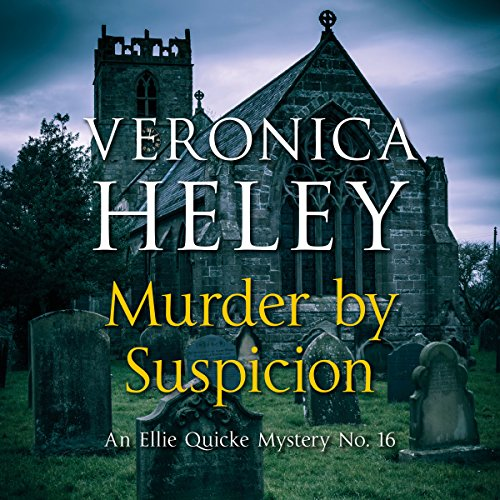 Murder by Suspicion audiobook cover art