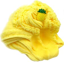 Mikilon 2019 Newest 2/3.3/4 oz Fairy Putty Fluffy Pineapple Cloud Slime, Fluffy Floam Slime Stress Relief Toy Scented Sludge Toy for Kids and Adults (Yellow, 3.3oz)