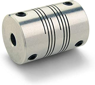 Inch 7//8 OD Stainless Steel 1-1//16 Length 18 lb-in Nominal Torque Ruland PCR14-4-4-SS Clamping Beam Coupling 1//4 Bore A Diameter 1//4 Bore B Diameter