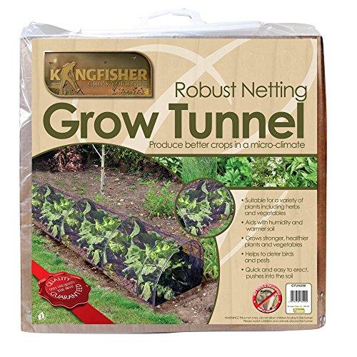 Kingfisher GTUN300 Filet, cultivé, Tunnel, Transparent, 300x45x45 cm