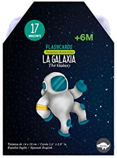Flashcards La Galaxia / Flashcards The Galaxy - Flashcards Ages 6 M and Up - Spanish to English Flash Cards - Spanish/Engl...