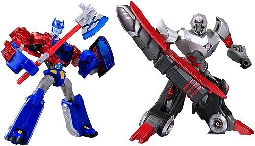 Tienda 2018 Japanese Transformers Animated - Cybertron Mode Set of of of Optimus Prime Vs. Mega... (japan import)  tienda de descuento