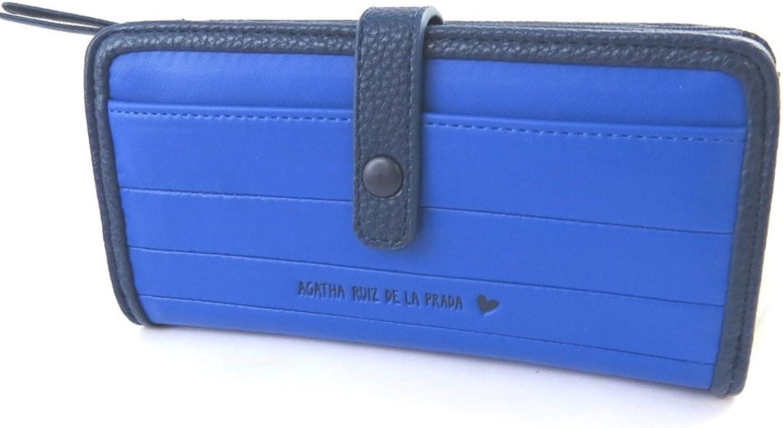 Agatha Ruiz de la Prada [N8685]  Wallet 'Agatha Ruiz De La Prada' bluee (m) 17.5x9x4 cm (6.89''x3.54''x1.57'').