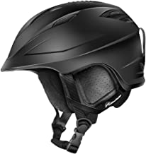 OutdoorMaster Ski Helmet PRO - with Airflow Climate Control & Adjustable Fit - for Men & Women