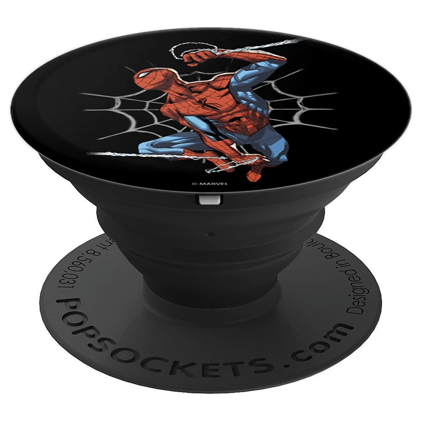 Marvel Spiderman Web Action - PopSockets Grip and Stand for Phones and Tablets