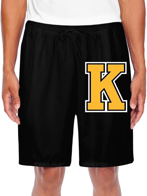 592a6766adc Men's Kingston Frontenacs Yellow K Logo Shorts Gym Gym Gym 81430f ...