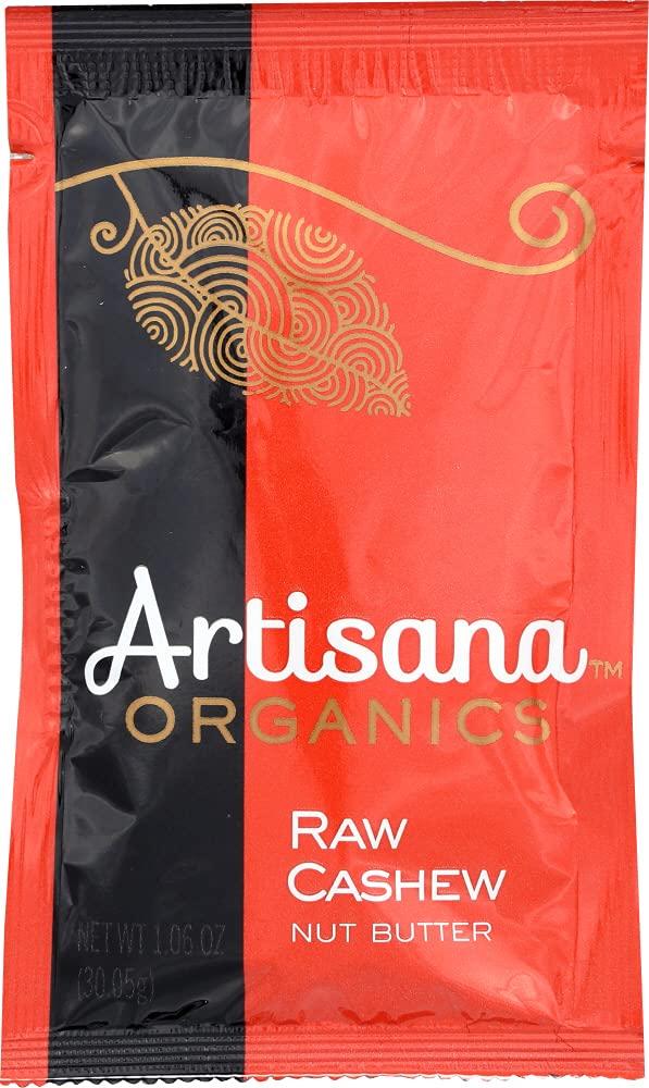 Artisana Butter Milwaukee Mall Cashew Raw Organic Ounce 5 ☆ popular Squeeze Pack 1.06