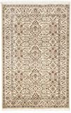 Hand knotted rug in Ushak style. 4'x 6'