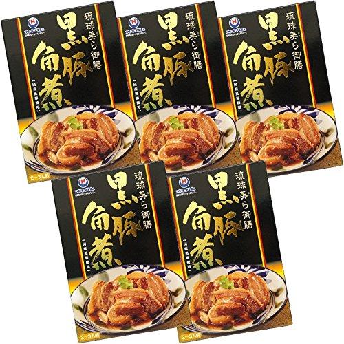 沖縄ハム総合食品 琉球美ら御膳 黒豚らふてぃ 200g×5箱
