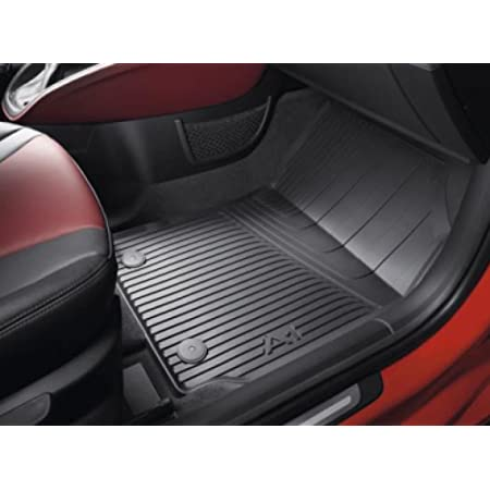 Audi A1 S1 Gummi Fußmatten 4 Teilig Schwarz Original Zubehör Allwettermatten Auto