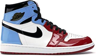 Air Jordan 1 Retro High 'Fearless Blue Red' Basketball Shoes Unisex Trainer Sneakers For Mens Womens