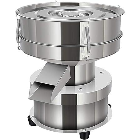 YUCHENGTECH Tamis Vibrant électrique Petit Tamis Vibrant Tamis à Poudre Automatique Machine de criblage de Poudre d'acier Inoxydable pour la Maison/Industrie 1350rpm 50W (hôte, sans Tamis