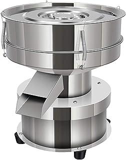 YUCHENGTECH Elektrisk vibrationssil liten vibrationssil automatisk pulversikt rostfritt stål pulver silmaskin för hushåll/...