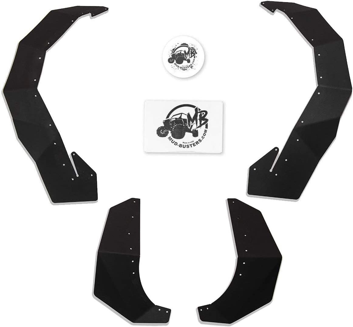 MudBusters Front and Rear 67% OFF of fixed price Fender Flares 1 for Polaris At the price of surprise General XP