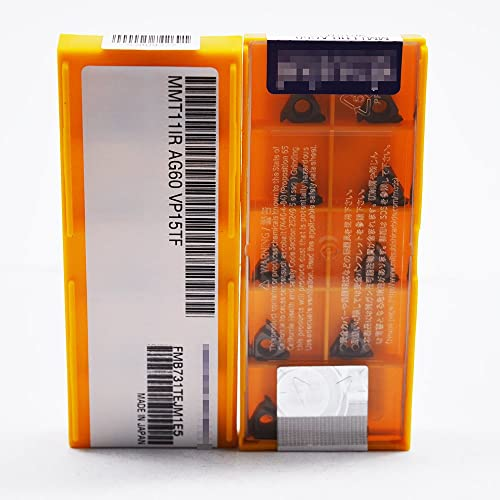 new arrival ZIMING-1 10pcs MMT11IR AG60 VP15TF CNC Carbide Inserts tools Suitable for discount machining popular Steel parts/stainless steel/cast iron outlet online sale