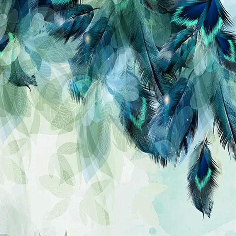 ventas en linea Zhangxuer Personalizado Personalizado Personalizado de Cualquier tamaño 3D Minimalismo nórdico Azul Pluma Mural Moderno Arte Abstracto Papel Pintado en la Parojo Fresco Salón Dormitorio Papel de parojo250x175cm250x175cm  Entrega rápida y envío gratis en todos los pedidos.