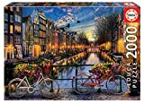 Educa Borras - Genuine Puzzles, Puzzle 2.000 piezas, Ámsterdam...
