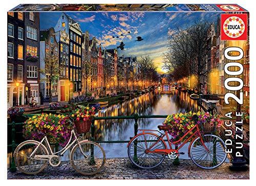 Educa Puzzle 2000 Peças - Amesterdão - 17127