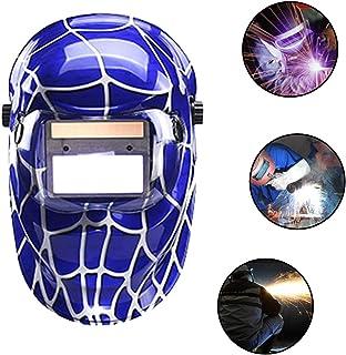 XCHUNA Cascos de Soldadura de oscurecimiento automático Solar, máscara de Soldadura/Gafas para MMA