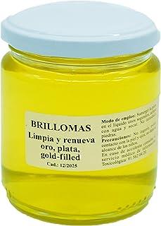 BRILLOMAS - 275 mililitros - Limpiador Plata y Oro + Regalo de un paño abrillantador (8 cm x 8 cm)