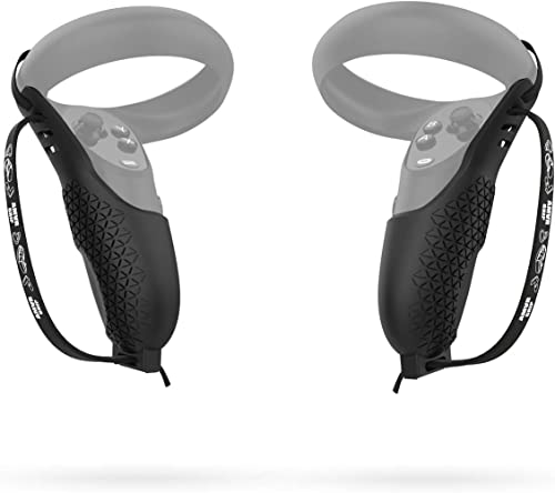 AMVR Touch Controller Grip Cover for Oculus Quest, Quest 2 or Rift S Anti-Throw Handle Protective Sleeve