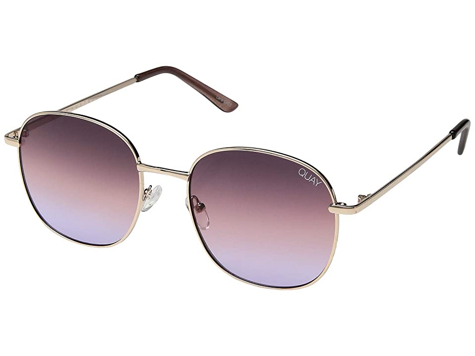 QUAY AUSTRALIA Jezabell (Rose/Purple Pink Fade) Fashion Sunglasses