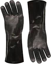 Artisan Griller BBQ heat resistant Insulated smoker, grilling, oven and cooking gloves. Great for kitchen/barbecue/frying turkeys -1 pair (14 Inch) Size 10/XL