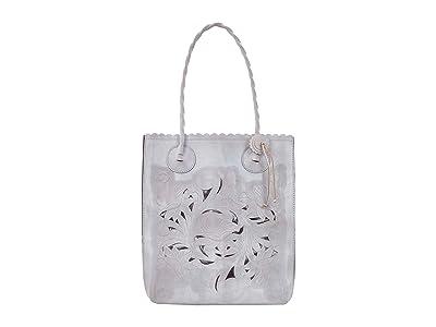 Patricia Nash Cavo Tote (Light Grey) Tote Handbags