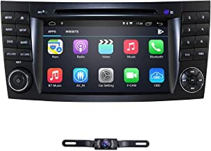hizpo 7 Inch Android 9.0 Car Stereo Radio DVD Player GPS Can-Bus Mirrorlink Bluetooth OBD2 Multi Touch Screen for Mercedes-Benz E-Class W211 CLS W219 G-Class W463 CLS 350 CLS 500 CLS 55