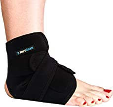 RiptGear Ankle Brace for Women and Men - Adjustable Ankle Support and Compression for Sprained Ankle – Ankle Stabilizer fo...