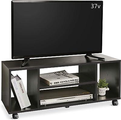 DEVAISE テレビ台 テレビラック テレビボード ローボード キャスター付き 移動便利 40インチまで対応 コーナー 幅900mm コンパクト 省スペース型 簡単組立 ブラック ORADSG607HF※ 通常1~2日以内に発送します※