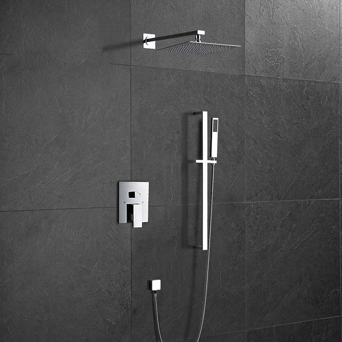 豆腐男らしいあたたかいシャワーセット レインシャワー シャワーヘッド シャワー 浴室用 蛇口 高水圧 節水 取付簡単 耐久性 セット ZHQJP