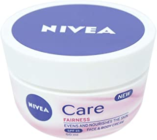 NIVEA, Body Care, Body Cream, Natural Fairness, Dry Skin, 50ml