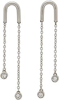 Esprit Loris Earrings For Ladies , Stainless Steel , Eser00042100 - Silver