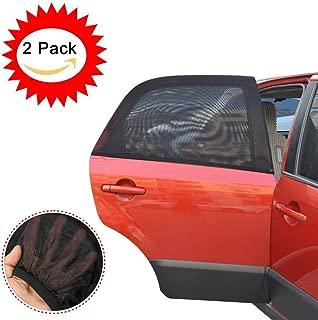 HEQUN 2 Pi/èces Auto adh/ésif pare-soleil de voiture pour Enfant Protection Blocage des rayons ultraviolets nocifs Chaleur /éblouissante