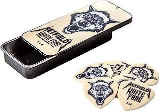 Jim Dunlop Hetfield's White Fang Custom 1.14mm Flow Guitar Pick Tin (PH122T114)