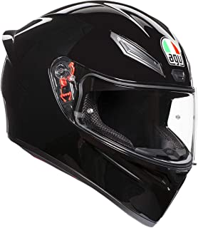 AGV Unisex-Adult Full Face K-1 Motorcycle Helmet Black Large