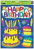 Eureka Color My World Birthday Window Clings (836072)
