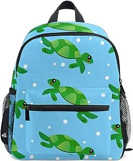 Turtle Baby Cartoon Comic Vector Kids Backpacks School Bags for Boys Girls