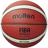 Molten Baloncesto compuesto de la serie X, aprobado por FIBA - BG4500, tamaño 6, 2 tonos (B6G4500)
