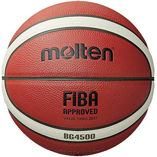 Molten BG Series Composite Basketball, FIBA Approved - BG4500, Size 7, 2- Tone (B7G4500)