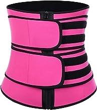 Yokbeer Taille Trainer Hot Sweat Corset voor Vrouwen Verstelbare Rits Corset Shapewear Afslanken Shaper Gordel Belt (Color...