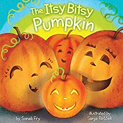 Pumpkin Books for Kids - The Itsy Bitsy Pumpkin