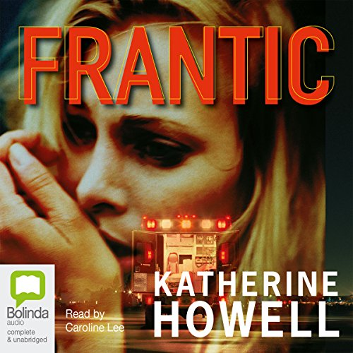 Frantic audiobook cover art