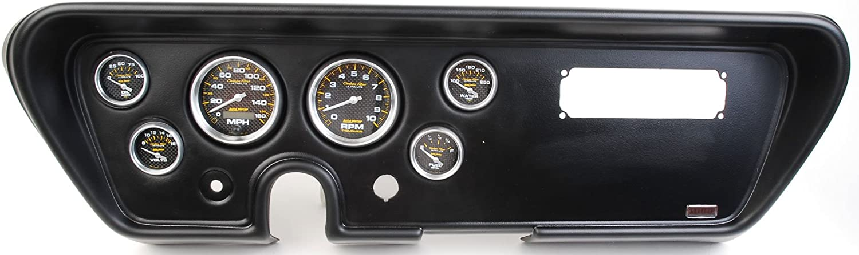 Classic Dash 411660511 GTO Max 67% OFF Black Carrier Genuine Panel w Auto Meter
