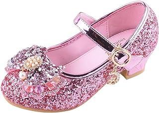 WEXCV babyschoenen zuigeling kinderen baby meisjes jongens parels bling pailletten bowknot banketschoenen sandalen vrijeti...
